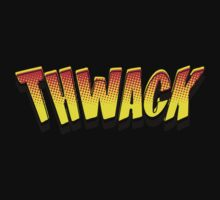 Cartoon THWACK by Chillee Wilson Kids Tee