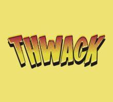 Cartoon THWACK by Chillee Wilson Kids Tee