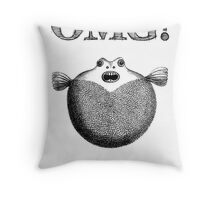 OMG!  Throw Pillow