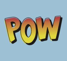 Cartoon POW by Chillee Wilson One Piece - Short Sleeve