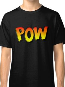 Cartoon POW by Chillee Wilson Classic T-Shirt