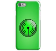 Wi-Fi Icon by Chillee Wilson iPhone Case/Skin