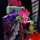 Singer Flowers by Carol Ferbrache