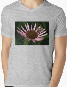 It's Getting Crowded on This Flower Mens V-Neck T-Shirt