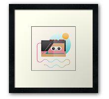 Summer Rhythm Framed Print
