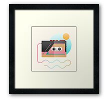 Summer Rhythm Framed Print