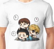 Mighty trio - thominewt Unisex T-Shirt