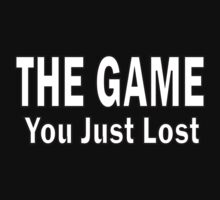 Loosing the Game. [White Text] by DamianL