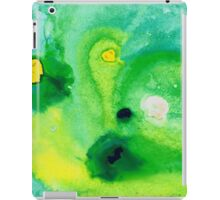Green Abstract Art - Life Pools - By Sharon Cummings iPad Case/Skin