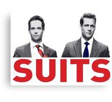 Suits Canvas Print