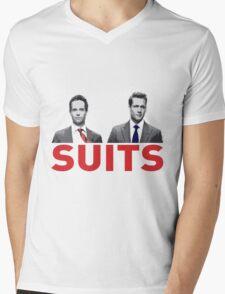 Suits Mens V-Neck T-Shirt