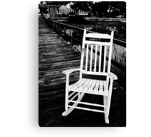 Charleston Chair Canvas Print