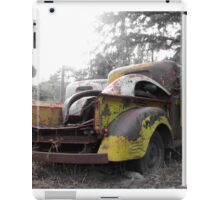 Old Rusted Pickup Trucks iPad Case/Skin