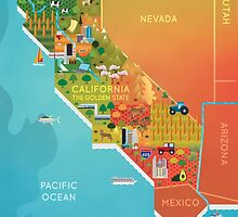 California Map by MeghanS