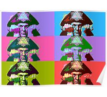Aleister Crowley Pop Art Poster
