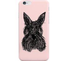 Scruffy Scottie iPhone Case/Skin