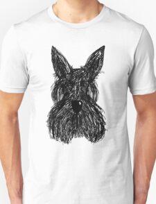 Scruffy Scottie Unisex T-Shirt