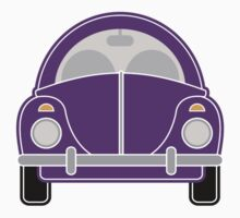 Purple Car Kids Clothes