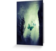 On The Wings of Chaos Greeting Card