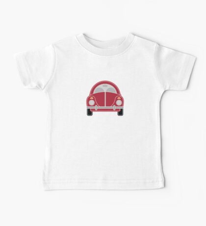 Red Car Baby Tee