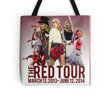The Red Tour Tote Bag