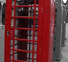 Old Town phone boxes by Sara-Jane  Keeley