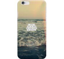 Jealousy iPhone Case/Skin