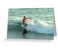 Kowabunga...Juno Beach FL Greeting Card
