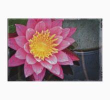 Pink Lotus Flower - Zen Art By Sharon Cummings One Piece - Short Sleeve