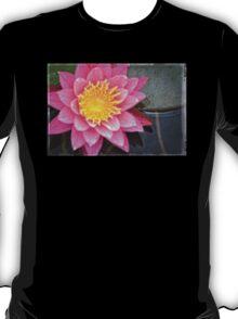 Pink Lotus Flower - Zen Art By Sharon Cummings T-Shirt