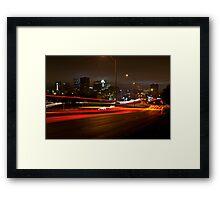 A night at Riverside Framed Print