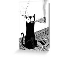Catnip Greeting Card