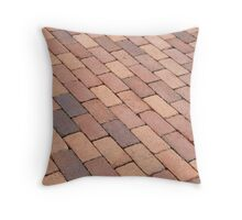 Tiled Sidewalk Throw Pillow