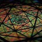 Neon Pinwheel by Eric Socia
