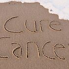 "Cure Cancer card by Lenora ""Slinky"" Regan"