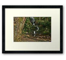 Buttermilk Falls, Tilman Ravine Framed Print