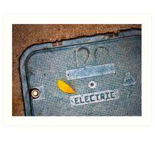 120 Electric Art Print