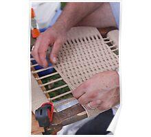 Replacing fiber rush seat  Poster