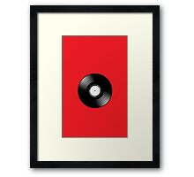 Vinyl Record by Chillee Wilson Framed Print