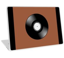 Vinyl Record by Chillee Wilson Laptop Skin