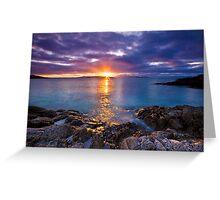 Scotland: Hebredean Sunset Greeting Card