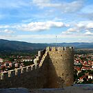 Ohrid viewed from king Samuil`s fortress by Maria1606