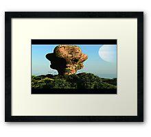 Martian Island # 2 Framed Print
