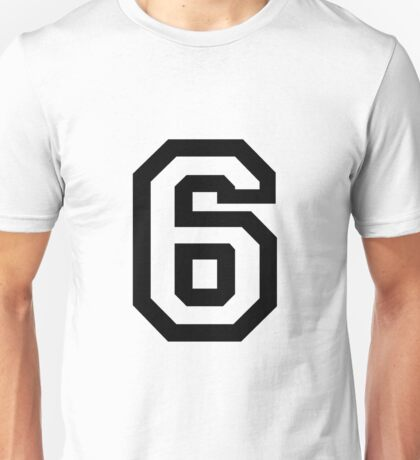 Number Six Unisex T-Shirt