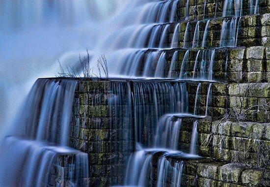 Cascading Winter Water by Jaime Martorano