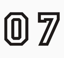 Number Seven by sweetsixty