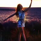 Dancing at Sunset by Gerard Rotse