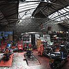 Motorbike Garage by Yhun Suarez