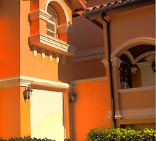 Entry to Mediterranean style residence in South Florida by Bigart32