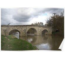 River Medway in Flood Poster